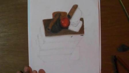 3D手绘教学, 手把手教你做一个美味的蛋糕, 画完还能吃