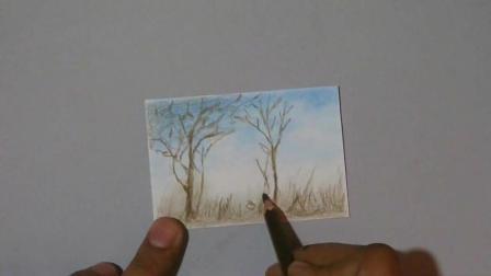 3D手绘教学, 手把手教你做一个漂亮的画框, 远看像一张真实的照片