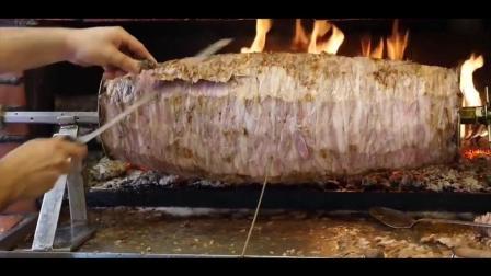 土耳其街头美食: 烤肉拌饭, 这才是最正宗的土耳其烤肉拌饭