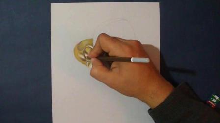 3D手绘教学, 手把手教你画一颗硕大的宝石戒指, 想要多大画多大