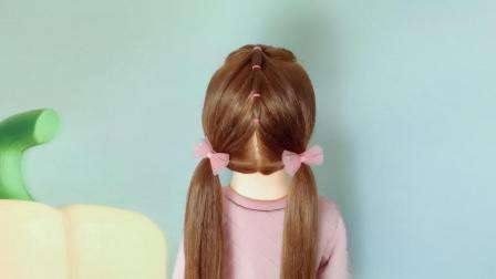 怎么扎好看的马尾辫 儿童发型绑扎方法教程