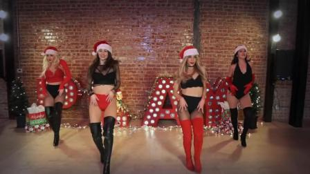 舞蹈圈的维密天使Mandy Jiroux & Chelsea Corp来送圣诞礼物了, 性感又可爱的舞蹈