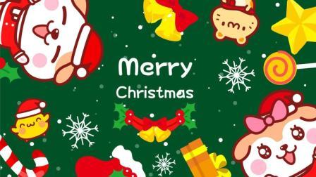 圣诞节一首童歌送大家—《铃儿响叮当》今晚滑雪多快乐我们坐在雪橇上
