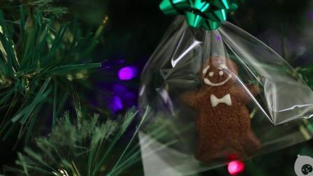 贝贝粒趣味手工教程 圣诞吃什么? 给18个月的宝宝做一份手工曲奇, 还能作装饰用