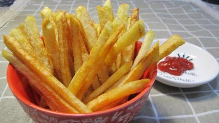 炸薯条原来这么简单, 教你在家炸出比麦当劳还好吃的薯条