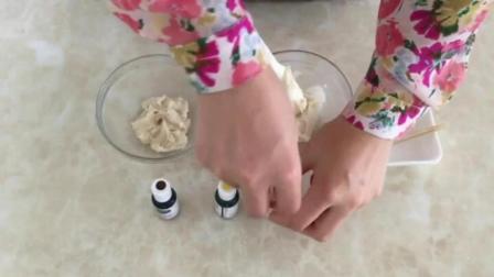 裱花12生肖的挤法过程 寿桃嘴做寿桃裱花教程 蛋糕裱花师培训