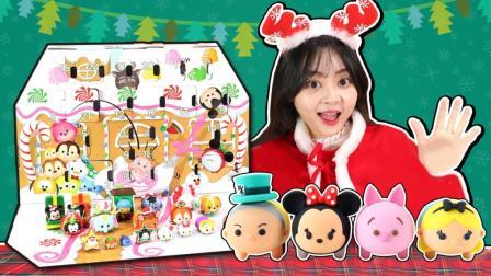 小伶玩具 迪士尼叠叠乐圣诞树 超萌公仔玩具 迪士尼叠叠乐圣诞树