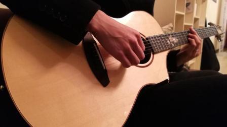这才是吉他真实的声音, 没有各种效果, 好好练琴就够了