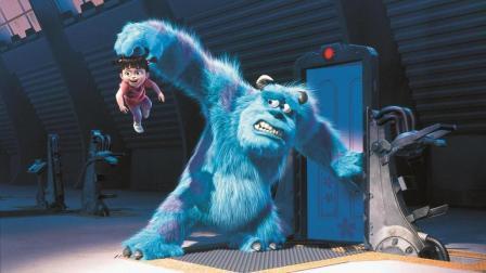 4分钟看完美国动画电影《怪兽电力公司》用人类来发电的怪兽太可怕了!