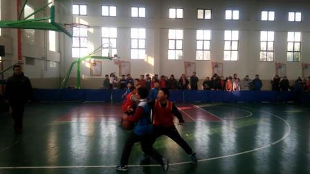 扬州市江都区四年级小学生三人制篮球赛砖桥小学VS张纲小学