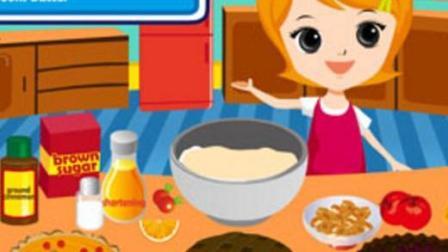 水果馅饼小能手  做水果蛋糕视频  宝宝做饭新创意  厨房玩具