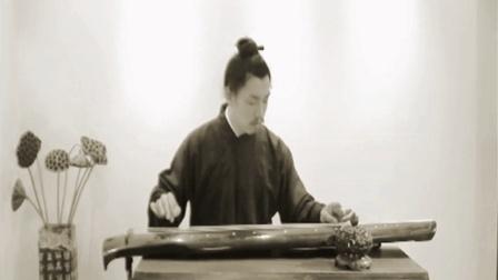 古琴卧龙吟教学 李程 古琴的指法初学视频教程 梅花三弄古琴曲教学
