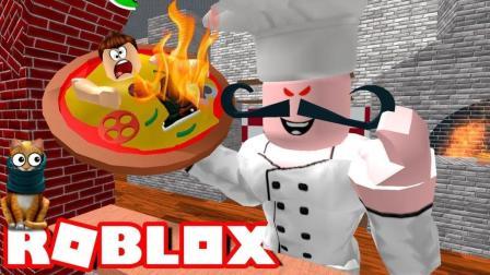 小飞象解说✘Roblox披萨店大逃生必胜客圣诞节惊现披萨! 乐高小游戏