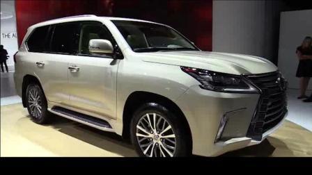 5.7L V8发动机, 比宝马X7还霸气, 全新雷克萨斯LX570, 豪华舒适与越野兼得的全尺寸SUV