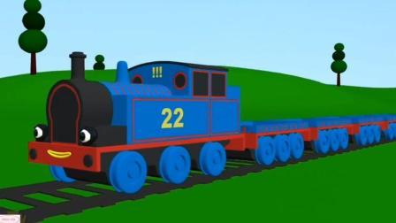 托马斯和他的朋友们动画视频托马斯小火车工程车
