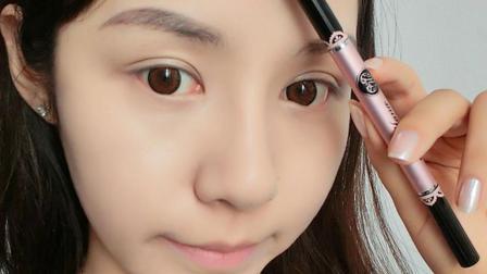 懒人修眉毛的步骤图片 最详细眉毛教程分分钟就学会