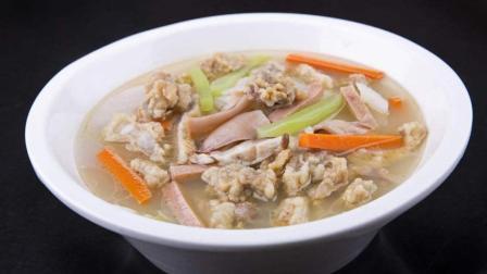 五星级酒店厨师长教你传统酥肉汤的做法, 酥肉汤肉美汤鲜好吃得停不下来