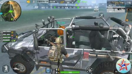 CF荒岛特训: 发生了这种意外, 我大概了做的是一辆黑面包车
