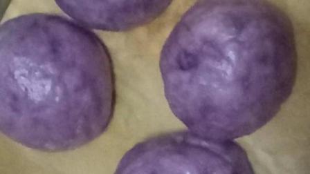 宝宝早餐做法之紫薯小馒头