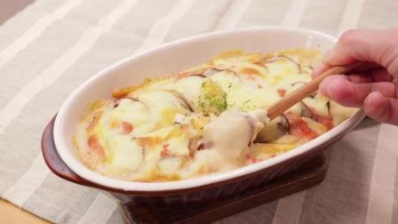 特色菜, 教你做芝士焗豆腐肉末香菇