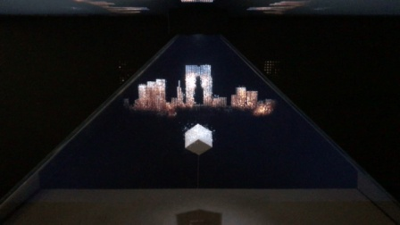 火米用全息魔盒做了一个宣传片