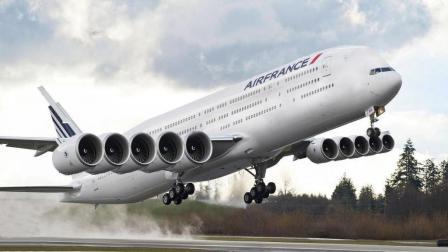 世界上8个最大的民航飞机, 这气势不比战机差!