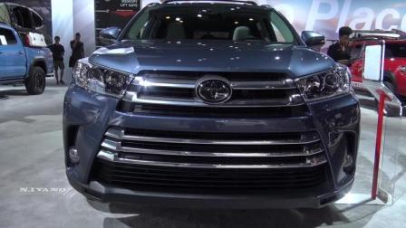 选七座SUV不可不看的车型, 高清实拍全新丰田汉兰达