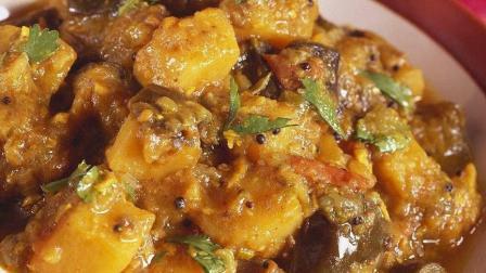 土豆炖茄子, 家常做法, 香味十足, 营养丰富, 非常不错