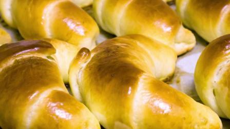 家庭自制牛角面包