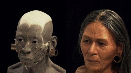 1200万年前女王长啥样, 3D真实还原, 连汗毛都看得到