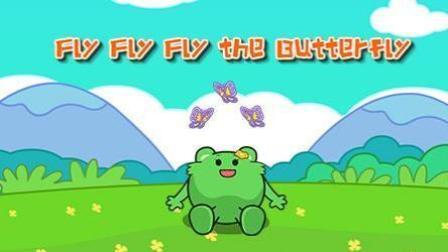 咕力咕力说唱学英语: Fly Fly Fly The Butterfly