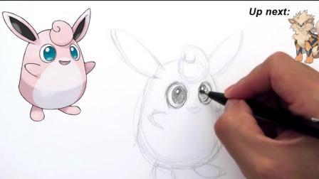 素描手绘教学, 手把手教你画神奇宝贝里面的卡通人物