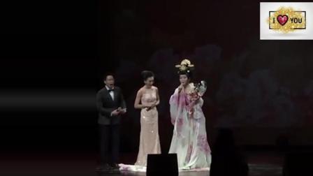李玉刚在韩国演出, 献唱《新贵妃醉酒》主持人_ 美得倾国倾城啊