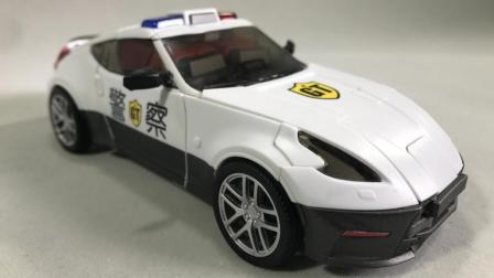 【小女警的模玩小窝】守护神GT-8警车