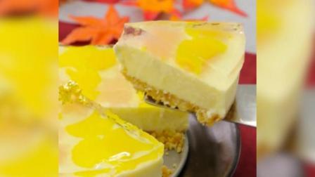 超美味的重乳酪蛋糕, 还有饼干碎和果冻, 这样一款甜点你喜欢吗?