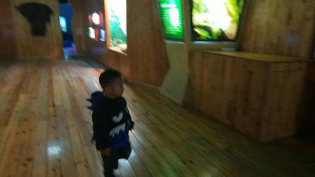 圣诞节带宝宝去海洋馆玩耍视频  萌娃海洋世界看各种各样的鱼 海底世界