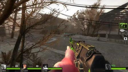 求生之路2 暗墨解说 教区 18 这游戏还有榴弹枪