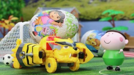 『奇趣箱』巫婆用魔法变走了车车的生日奇趣蛋, 猪猪侠五灵卫能帮忙找回吗?