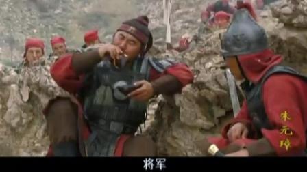 朱元璋差点被砍, 对方却莫名的被割喉而死, 莫非神助?