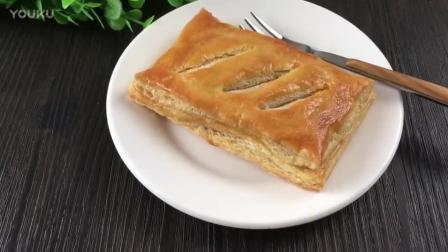 面包房烘焙视频教程 千层肉松派的制作方法bn0 烘焙烤面包教程