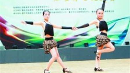 单人拉丁舞初级教程3 拉丁舞教程视频