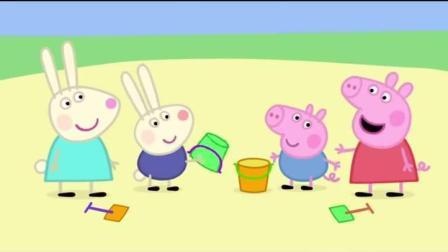 《小猪佩奇》理查德与乔治的塑料朋友情, 我这一拍子下去你可能会哭