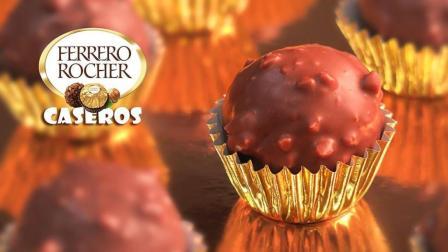 Mery西厨西点: 自制浓郁可口的费列罗巧克力球