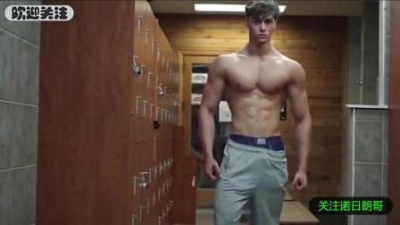 欧美肌肉帅哥健身展示  高颜值火爆身材处处有亮点