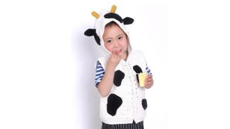 娟娟编织327集牛奶棉小牛马甲第三集零基础编织视频教程毛线编织教学视频