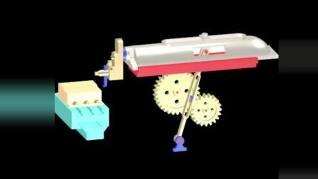 让你一秒看懂的机械原理, 设计真是太巧妙了