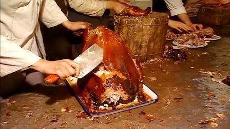 烤全羊, 是内蒙古阿拉善左旗最大的菜, 与烤鸭是同门
