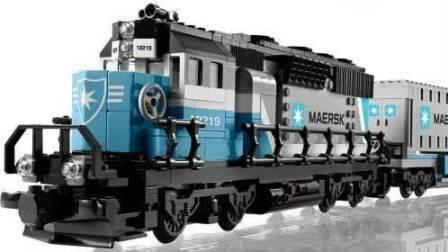 乐高世界★LEGO 马士基火车 卡车 MAERSK 4399小游戏
