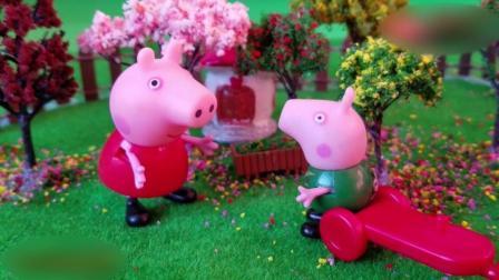 动漫: 小猪佩奇在丛林中找到一间小屋 粉红小猪妹喜欢旅游