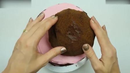 烘焙学习美女与野兽之超美的贝儿公主蛋糕西点师